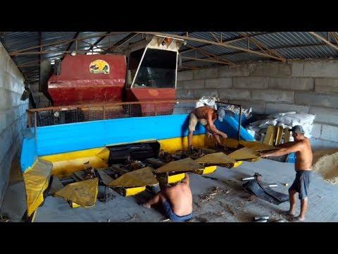 НИВА СК-5 , подготовка к подсолнуху и ремонт ПСП-1.5