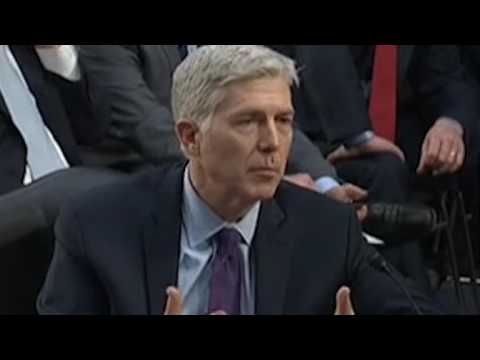 Senator Amy Klobuchar grilled SCOTUS Nominee Neil Gorsuch as she shows flaws in originalism