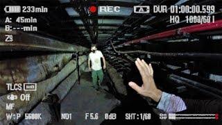 Побег от наркомана в заброшенной канализации. Логово маньяка под землей