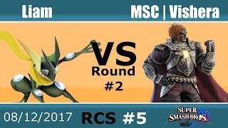Baixar RCS #5 Smash Wii U - Liam (Greninja) vs MSC | Vishera (Ganondorf)
