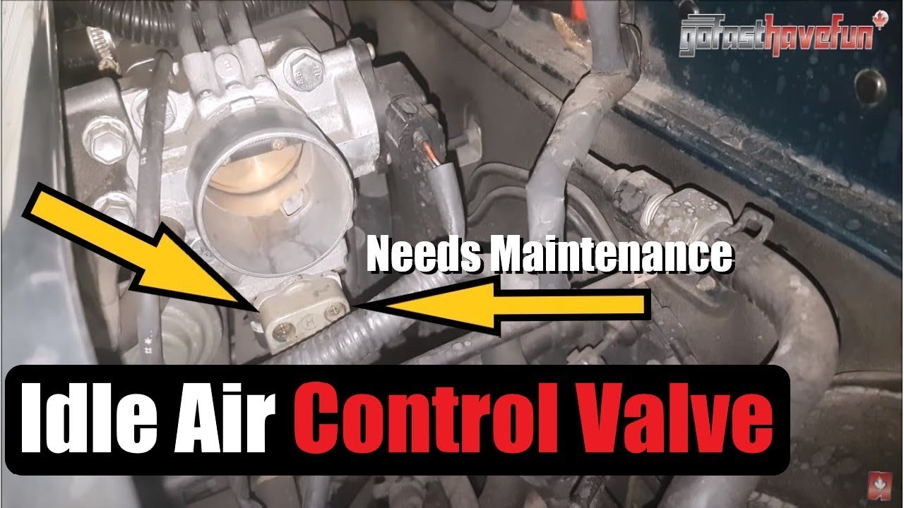 toyota idle air control valve maintenance correct idle issues anthonyj350 [ 1280 x 720 Pixel ]