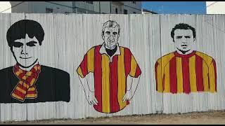 'Per sempre con noi': allo stadio 'Cannarsa' il murales dedicato a Guida, Pezzella e Bevere