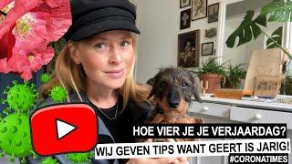 Geert is jarig maar hoe vier je dat? ELIZE AT HOME #2