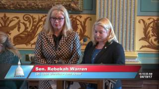 Sen. Schuitmaker recognizes April as Sexual Assault Awareness Month