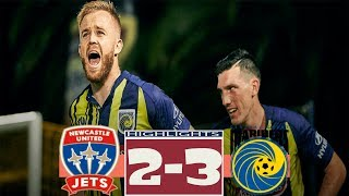 Newcastle Jets vs Central Coast Mariners 2-3 All Goals & Highlights 16.03.2019