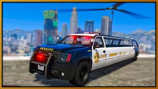 GTA 5 Roleplay - I MADE COP HELICOPTER CAR & THE POLICE HATED IT | RedlineRP