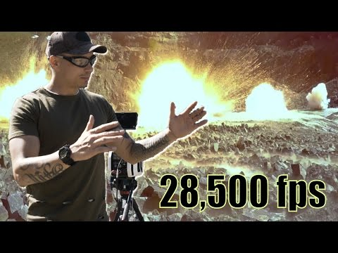 FILMER DES EXPLOSIONS à 28,500 fps