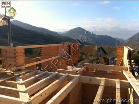 Maison bloc bois pbm youtube - Maison bloc modulaire ...