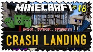Minecraft CRASH LANDING - #18 - Viel mehr Druck und Kraft!  | TheNodop