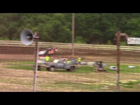 Hummingbird Speedway (6-16-18): BWP Bats Late Model Heat Race #1