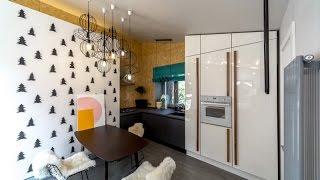 Дачный ответ: проект «Кухня в елочку, фасад с иголочки» при участии Cosmorelax