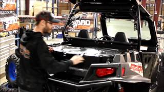 Bad Dawg Accessories - Rear Tube Bumper and Dry Storage Box for the Polaris RZR