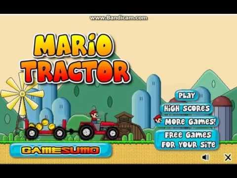 Игра Марио на тракторе Игры для мальчиков