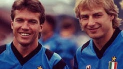 Lothar Matthäus + Jürgen Klinsmann Vs Milan (1991)