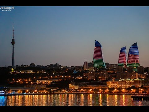 Baku Azerbaijan travel  vlog باكو -- اذربيجان سفرة روعة