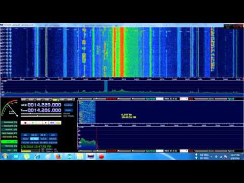 SDR clocked by SI5351