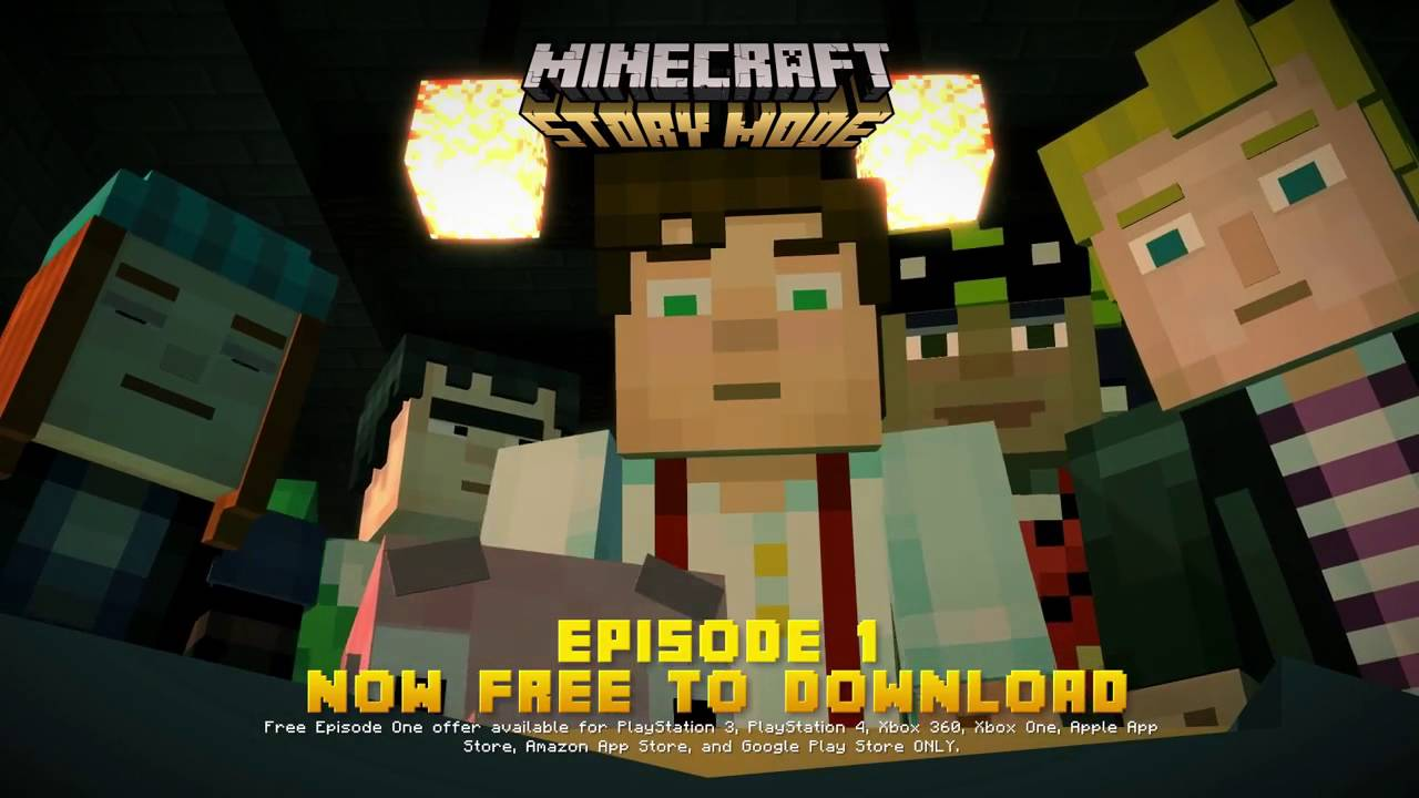 Minecraft Story Mode - First Episode NOW FREE