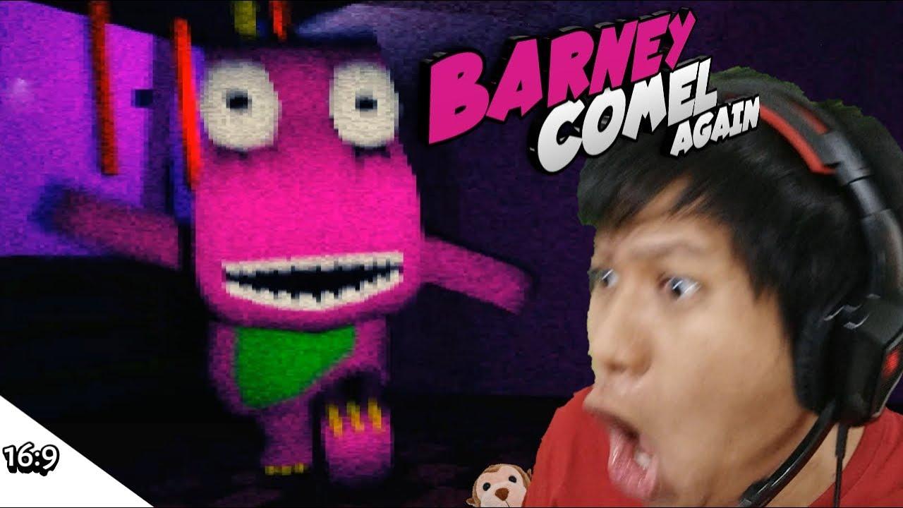 GAK MAU LAGI MAIN GAME BARNEY!!! TITIK!!! Barney [SUB INDO] ~Naik Kursi Roda!!