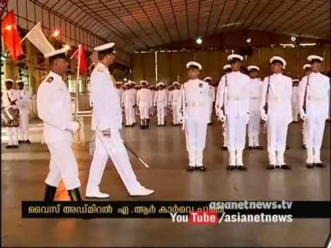 Vice Admiral AR Karve takes charge of Southern Naval Command