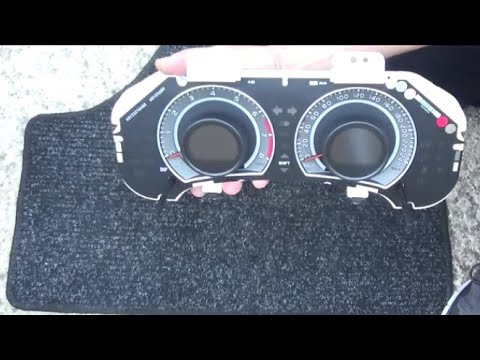 2007-2013 Toyota Corolla How To Remove And Disassemble The Dashboard Αποσυναρμολόγηση πίνακα οργάνων