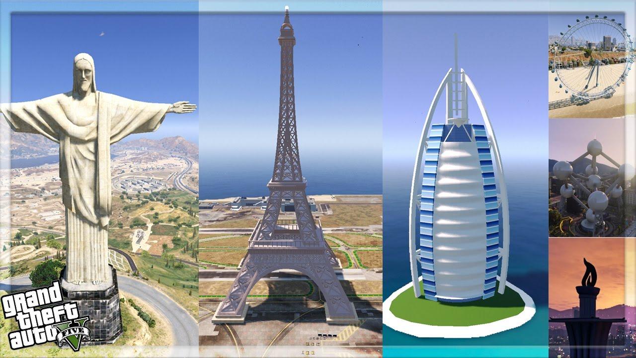 All Major Monuments Usa