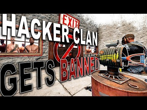 HACKER Clan Gets BANNED After Getting REKT! | Rust Trio Survival #5