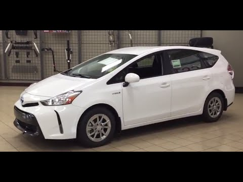 2017 toyota prius v review youtube. Black Bedroom Furniture Sets. Home Design Ideas