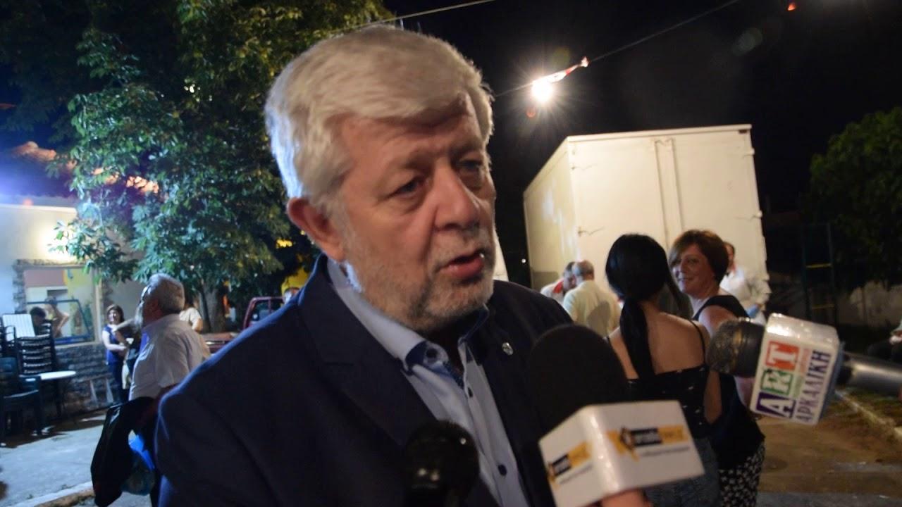 O Δήμαρχος Τρίπολης στην 23η γιορτή του Σκόρδου στα Λιθοβούνια