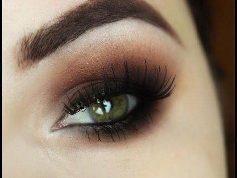 maquiagem para os olhos verdes