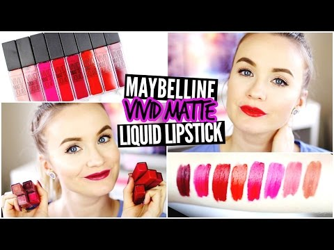maybelline-vivid-matte-liquid-lipstick-swatches-for-pale-skin
