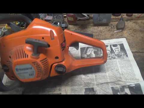 Ремонт бензопилы хускварна 137 своими руками видео карбюратор