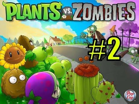 Растения Против Зомби Plants Vs Zombies .avi смотреть