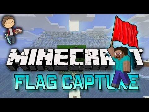 Minecraft: Capture the Flag w/Mitch, Jerome, and Ryan! (The Nexus Mini-Game)