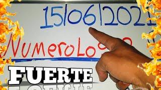 LOS NÚMEROS PARA HOY 15/06/21 DE JUNIO POR NUMEROLOGIA RD