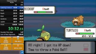 Pokemon Pearl Any% Speedrun in 1:02:22