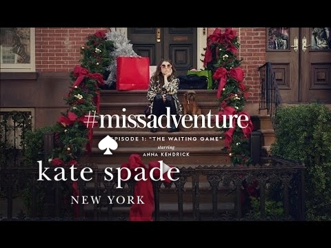 Kate Spade Christmas Cards 2019.Anna Kendrick In Missadventure The Waiting Game S1 Kate Spade New York