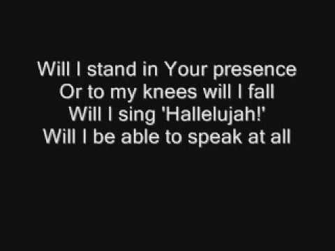 MercyMe - I Can Only Imagine (Lyrics)