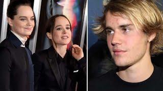 Ellen page's wife emma portner accuses justin bieber of 'degrading women'   meaww
