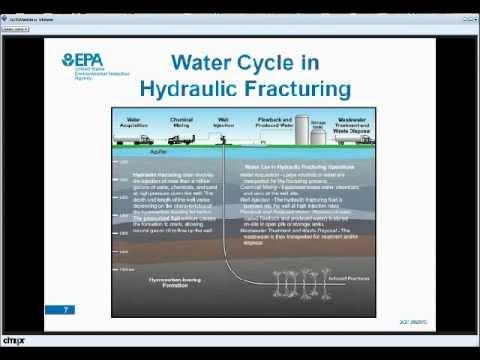 EPA's Hydraulic Fracturing Study Update