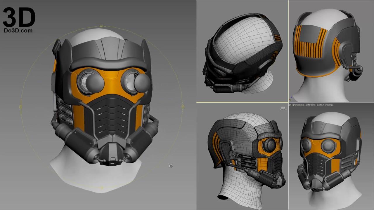 Cosplay glowing eyes star-lord helmet kit part 4 youtube.