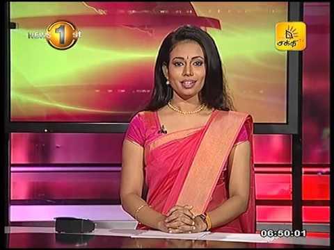 News 1st Prime time Sunrise Shakthi TV 6 45 AM 22nd August 2016