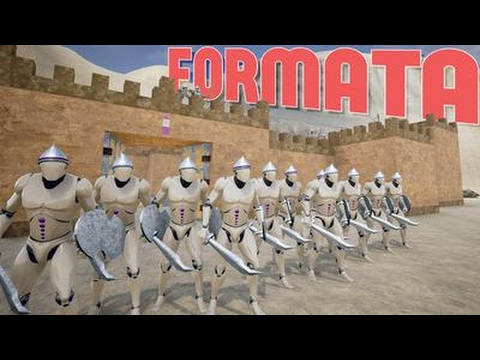 Formata - Full Scale Warfare! TABS Meets Chivarly Medieval Warfare! - Formata Desert Arena Gameplay