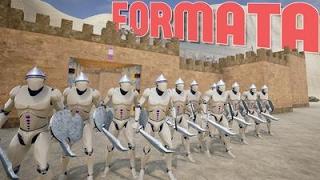 Formata - Full Scale Warfare! TABS Meets Chivarly Medieval Warfare! - Formata Desert Arena Gameplay
