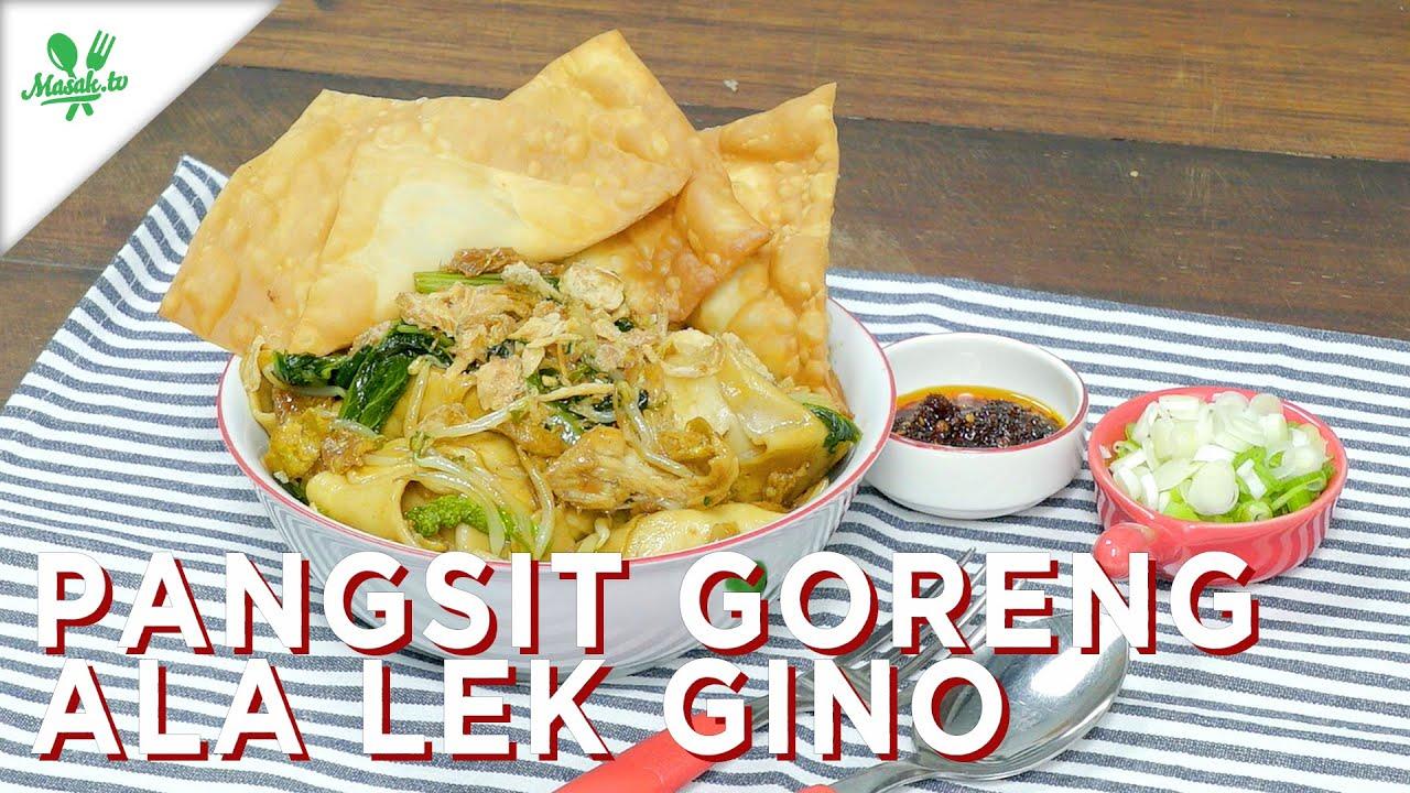 RESEP PANGSIT GORENG VIRAL! | Pangsit Goreng ala Lek Gino