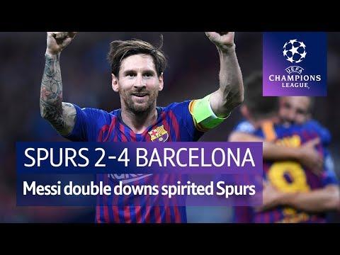 Tottenham vs Barcelona (2-4) UEFA Champions League Highlights
