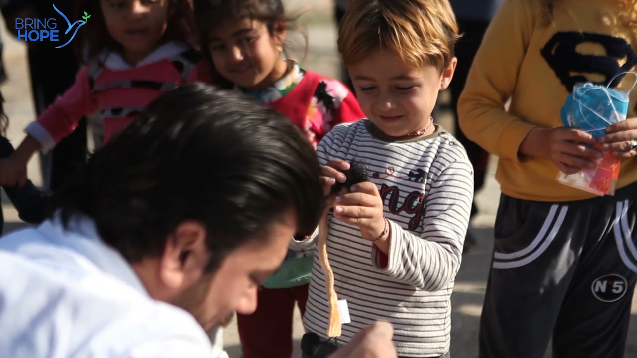 Aid to Yazidi families living in Northern Iraq