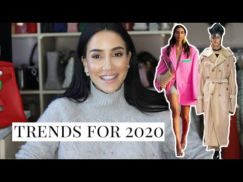 Top Fashion Trends For 2020  | Tamara Kalinic. http://bit.ly/2GPkyb3