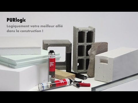 Colle mousse polyuréthane PURlogic - Würth