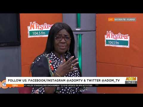 Bring back the Child, Young woman fights her Ex- Obra on Adom TV (22-7-21)