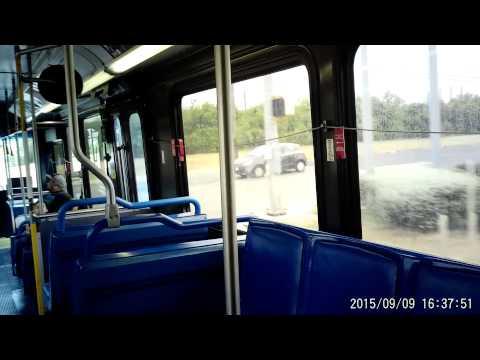 VIA bus route 5O2 in San Antonio, Texas on Wednesday September 09, 2015